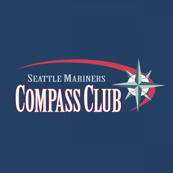 Seattle Mariners Compass Club logo cube