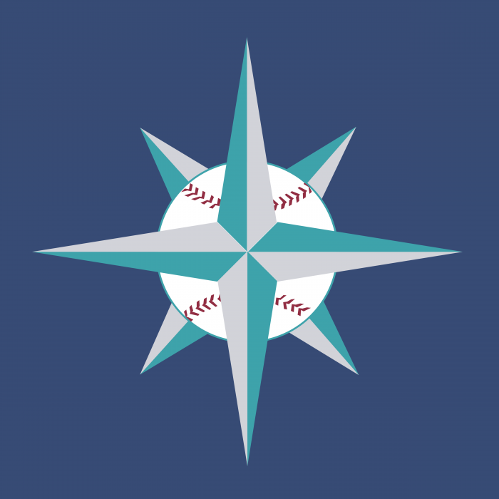 Seattle Mariners logo cube