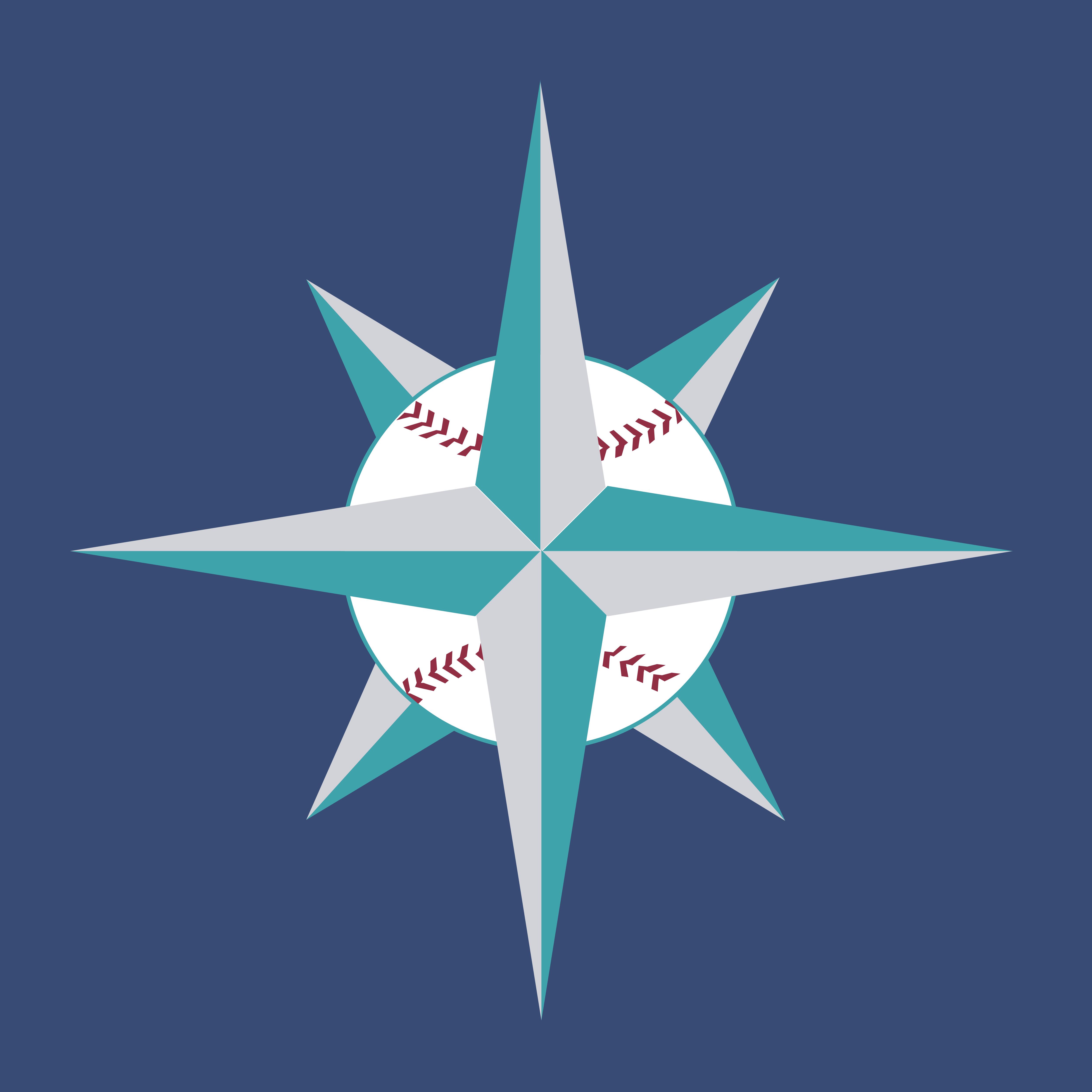 seattle mariners vector logo download free vector logos