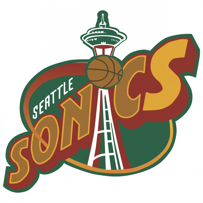 Seattle Supersonics logo brand
