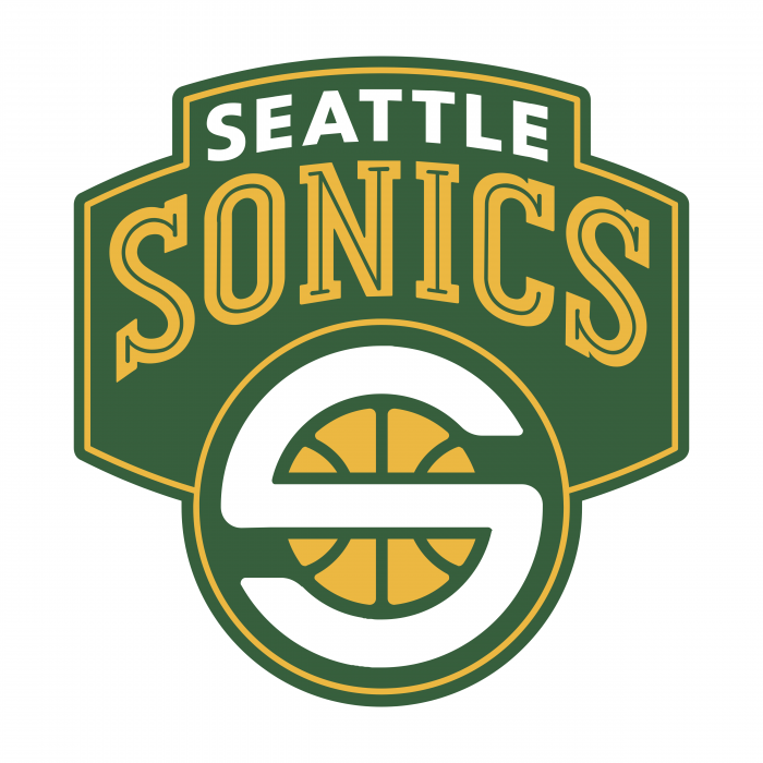 Seattle Supersonics logo color