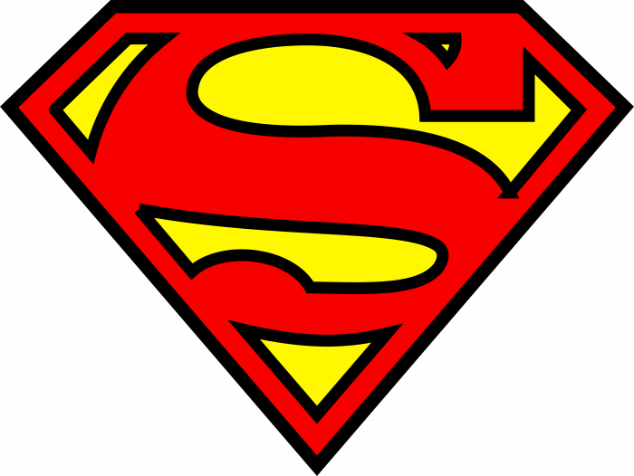 Superman logo pink