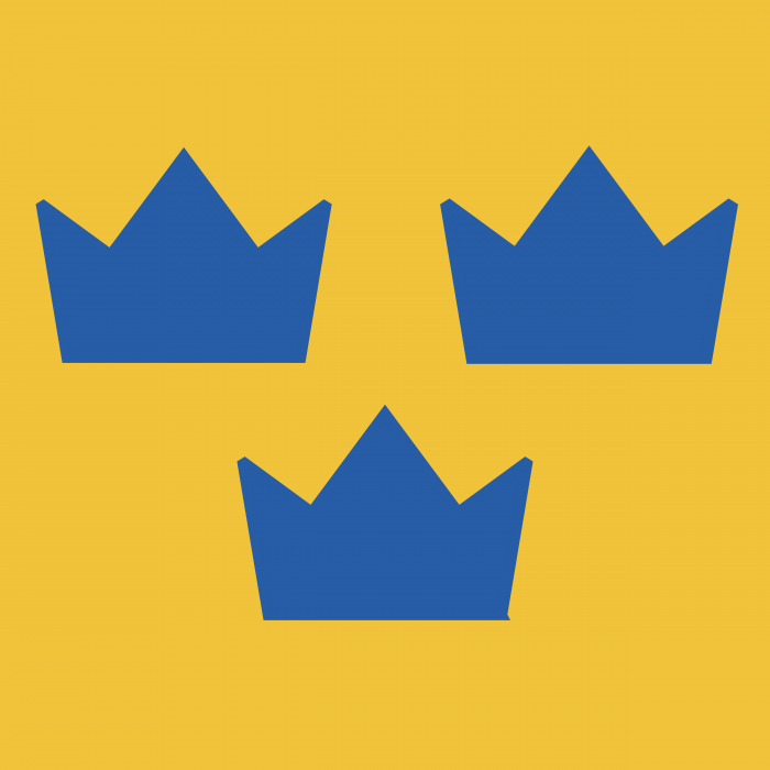 Swedish Hockey logo yellow
