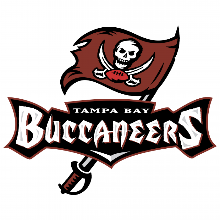 Tampa Bay Buccaneers logo flag
