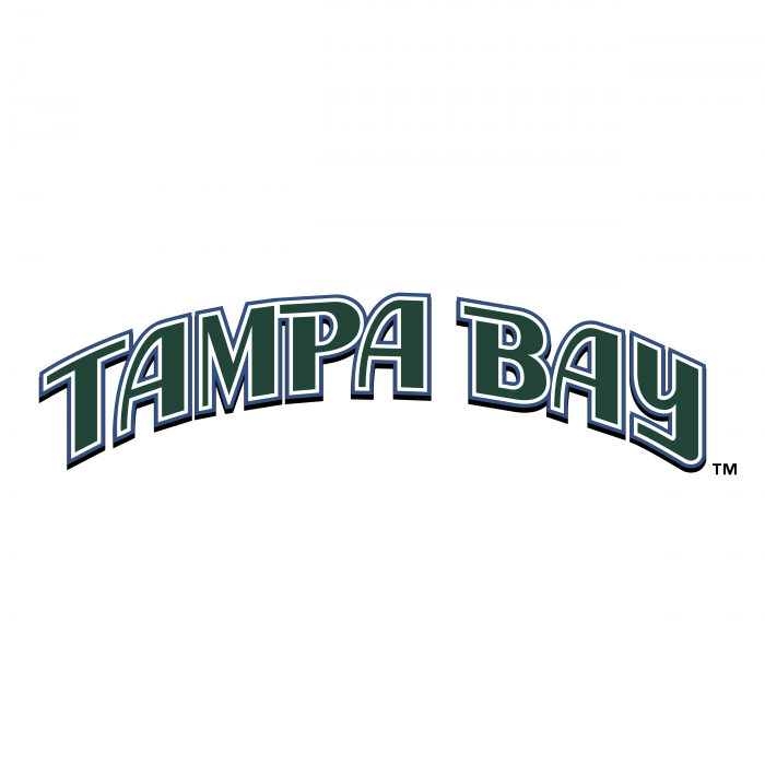 Tampa Bay Devil Rays logo green