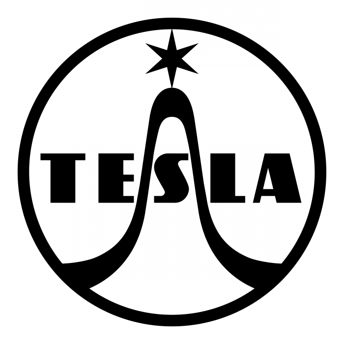 Tesla logo cercle