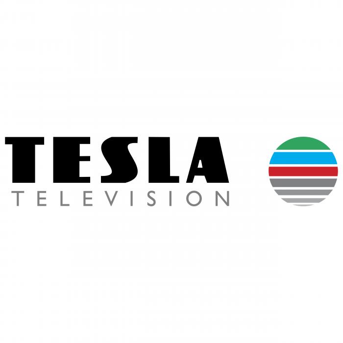Tesla logo television