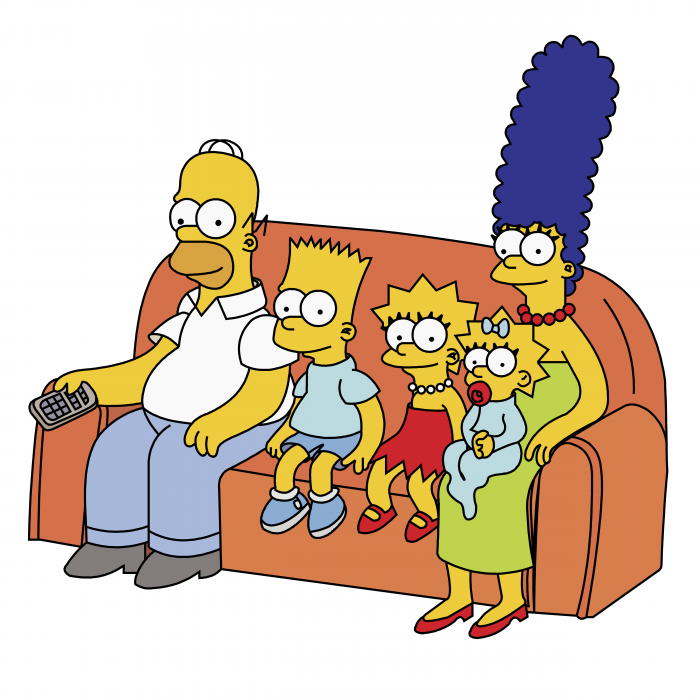 The Simpson logo family