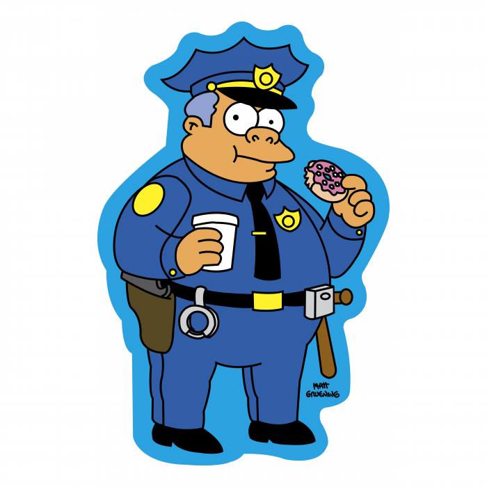 The Simpson logo police