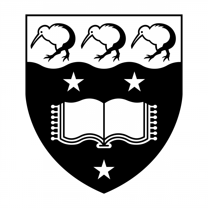 The University of Auckland logo black