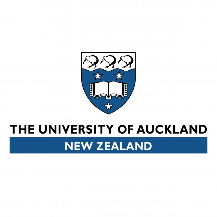 The University of Auckland logo blue