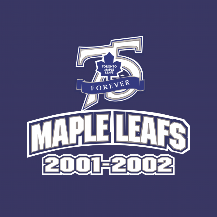 Toronto Maple Leafs logo 75