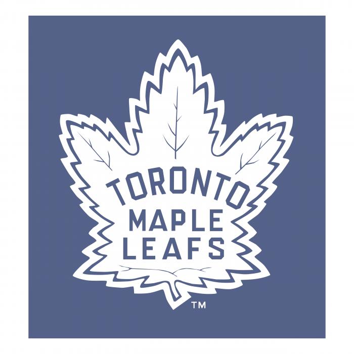 Toronto Maple Leafs logo cube