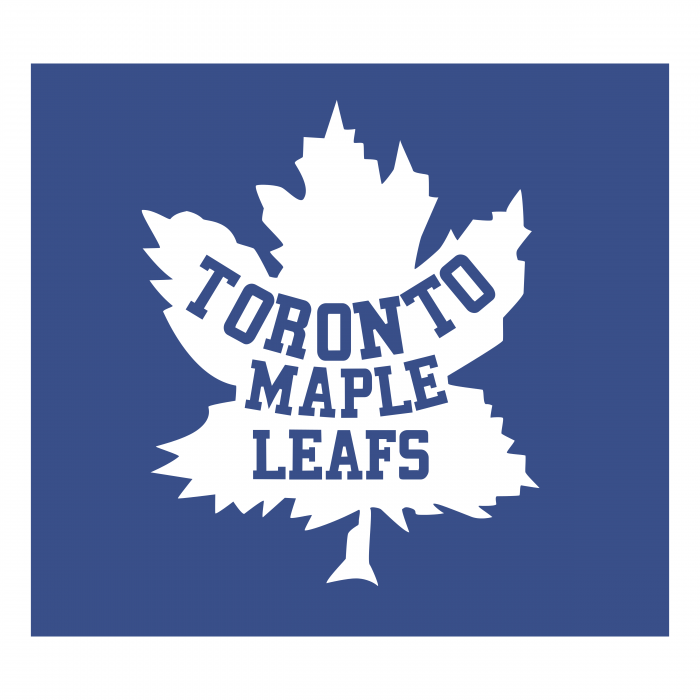 Toronto Maple Leafs logo white leaf