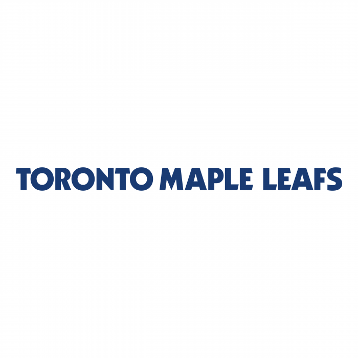 Toronto Maple Leafs logo words