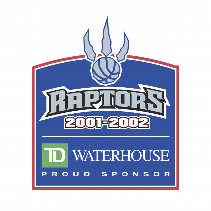 Toronto Raptors logo waterhouse