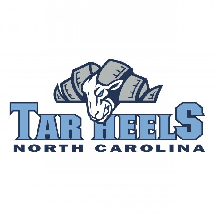 UNC Tar Heels logo brand