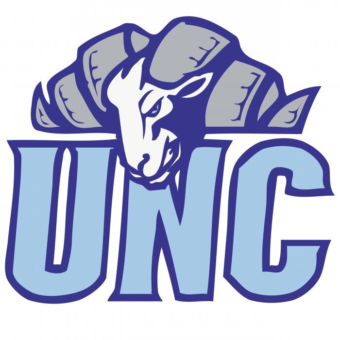 UNC Tar Heels logo bright
