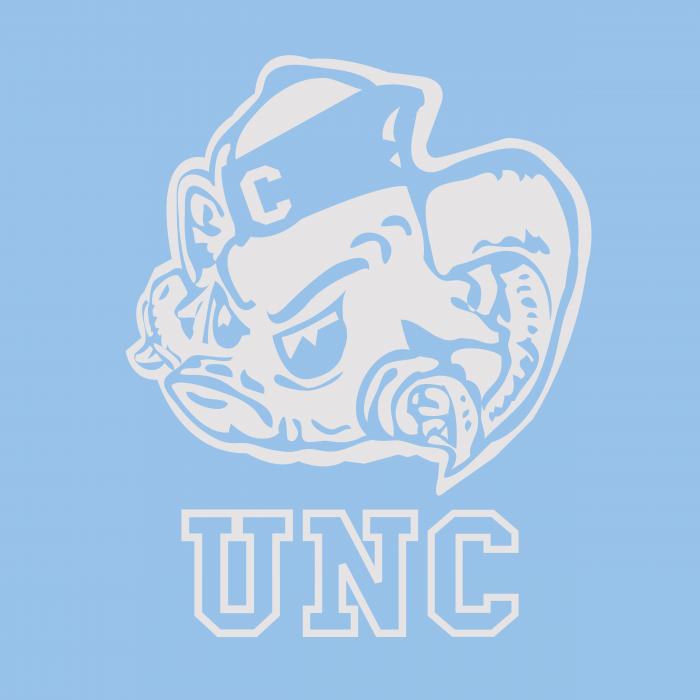 UNC Tar Heels logo cube light
