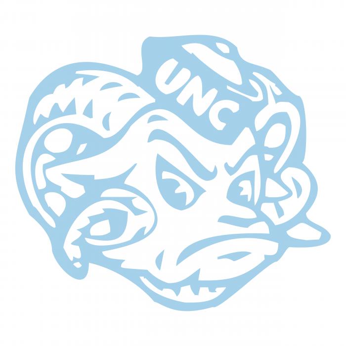 UNC Tar Heels logo head