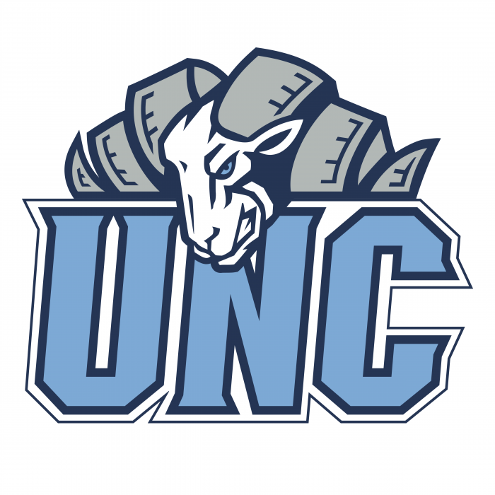 UNC Tar Heels logo ram