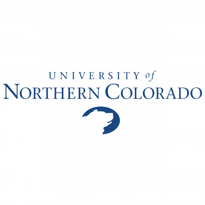 UNC logo blue