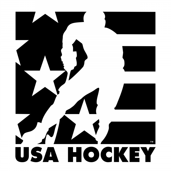 USA Hockey logo black