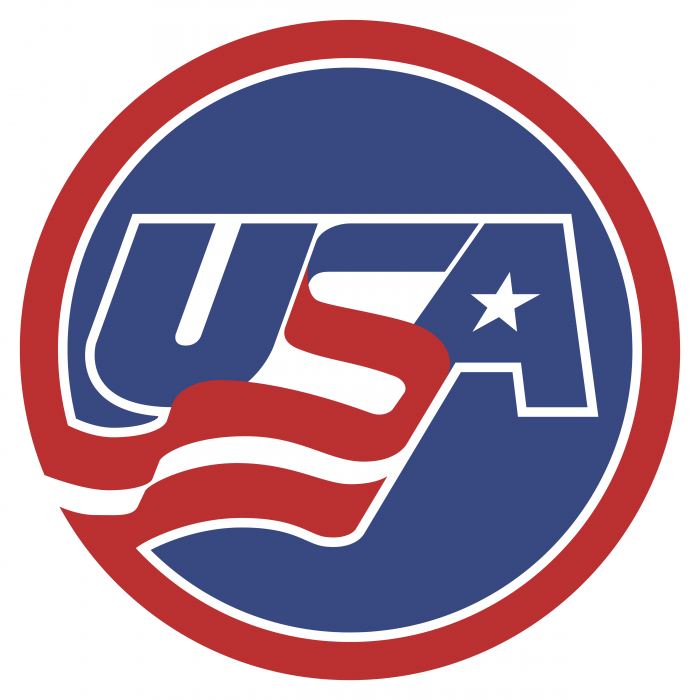 USA Hockey logo circle