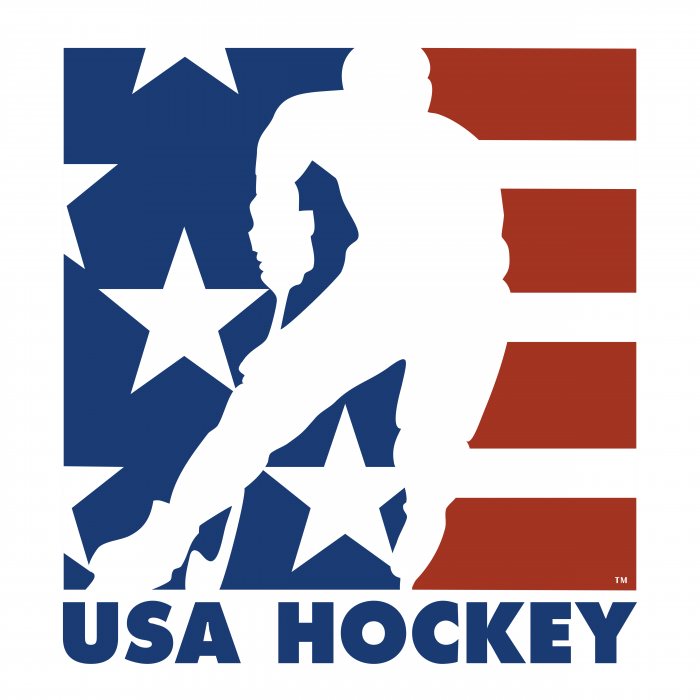 USA Hockey logo flag