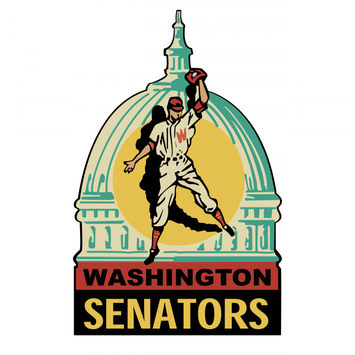 Washington Senators logo color