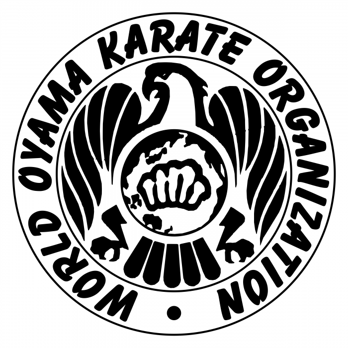 World Oyama Karate Organization logo black