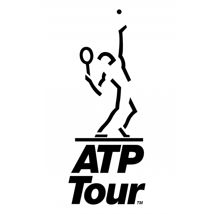 ATP Tour logo black