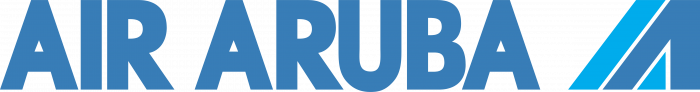 Air Aruba logo blue