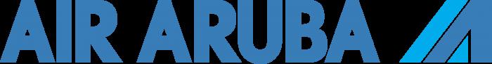 Air Aruba logo blue
