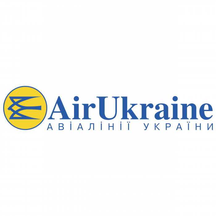 Air Ukraine logo blue