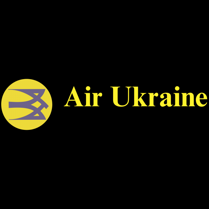 Air Ukraine logo yellow