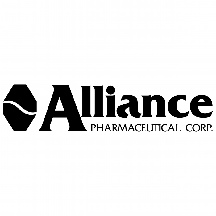 Alliance Pharmaceutical logo black
