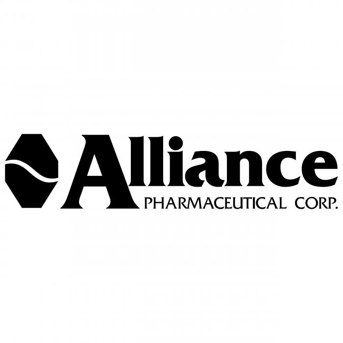 Alliance Pharmaceutical logo black