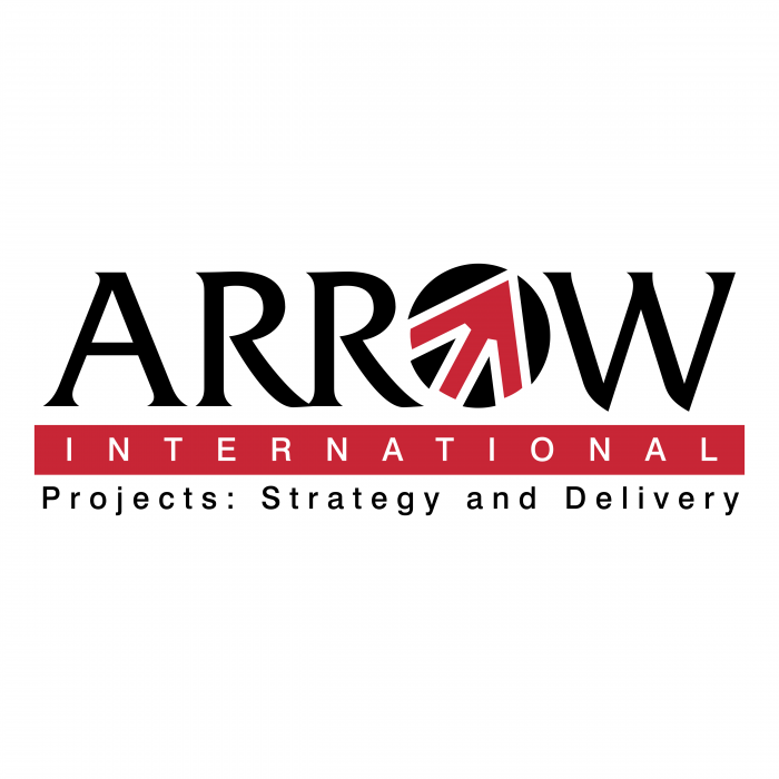 Arrow logo international