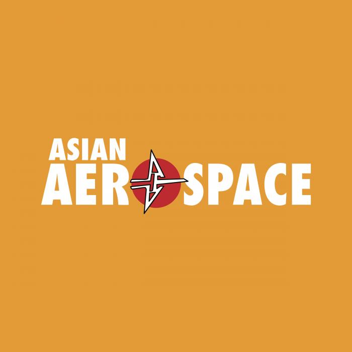 Asian Aerospace logo cube