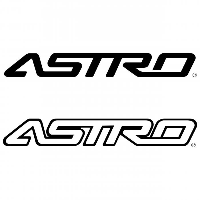 Astro logo black