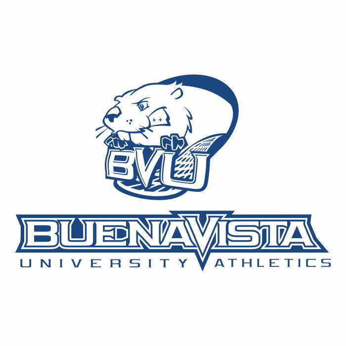BVU Beavers logo blue