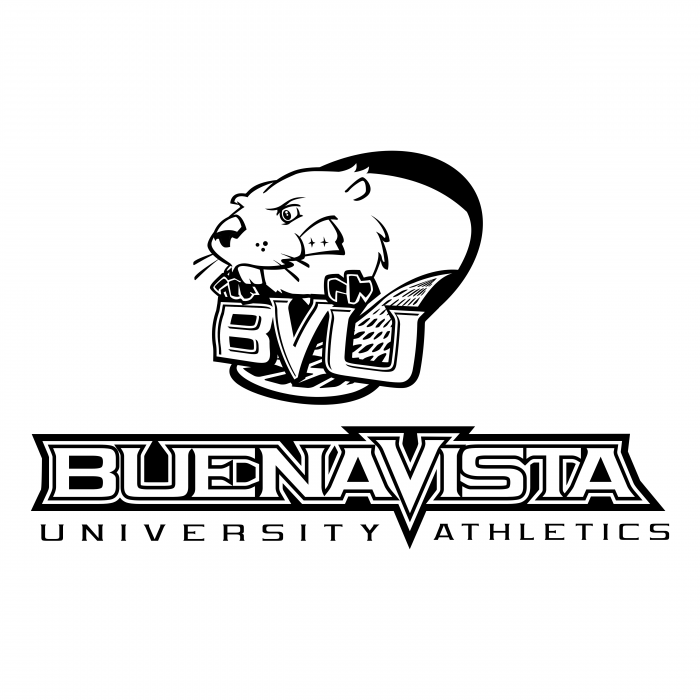 BVU Beavers logo white