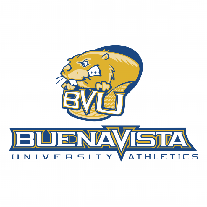 BVU Beavers logo yellow