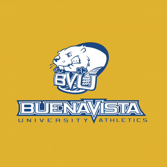 BVU Beavers logo yellow cube