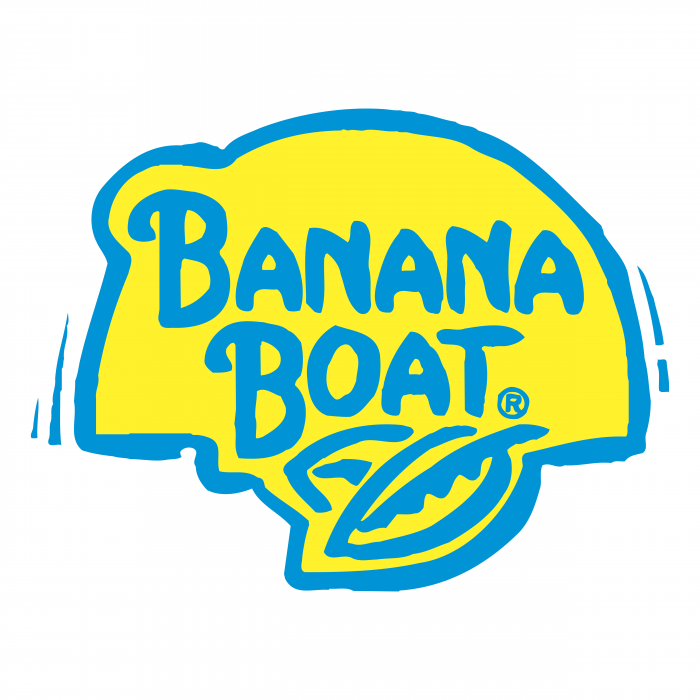 Banana Boat logo yellow