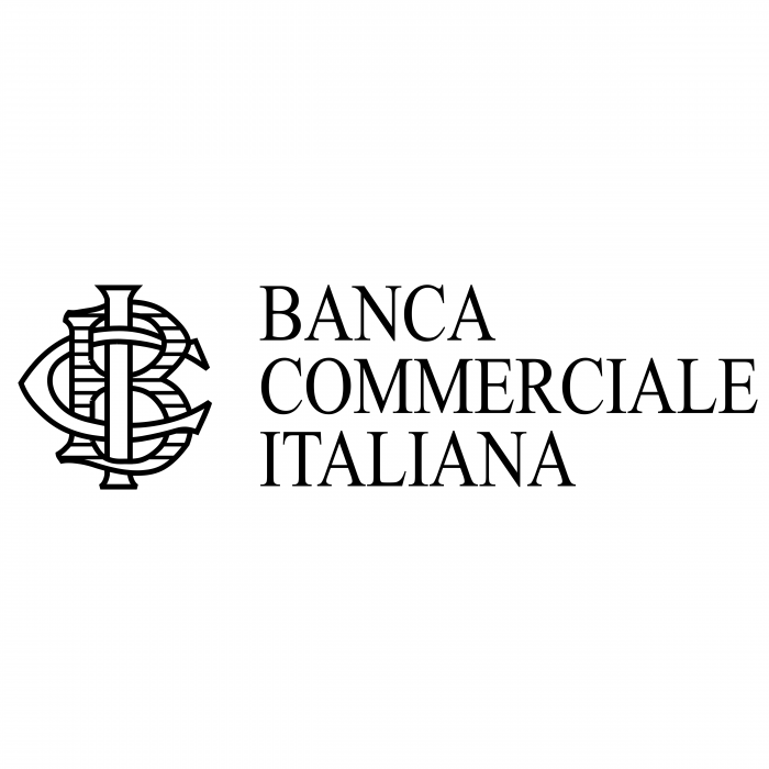 Banca Commerciale Italiana logo black