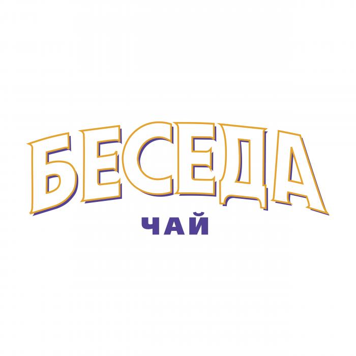 Beseda Tea logo white