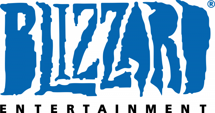 Blizzard Entertainment logo black