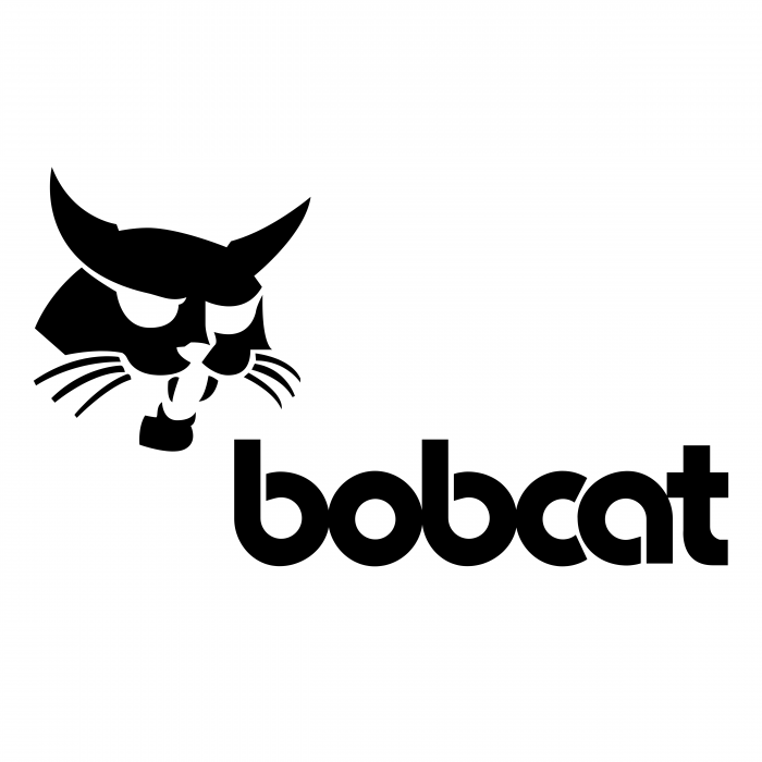 Bobcat logo black